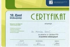 Certyfikat 19-20.09.2008