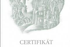 Certyfikat 22-25.08.2007