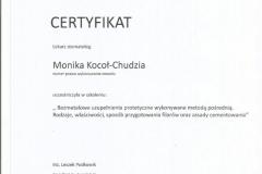 Certyfikat 24.10.2015