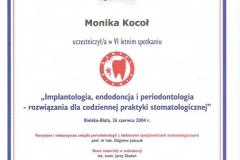 Certyfikat 26.06.2004