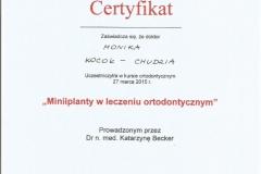 Certyfikat 27.03.2015